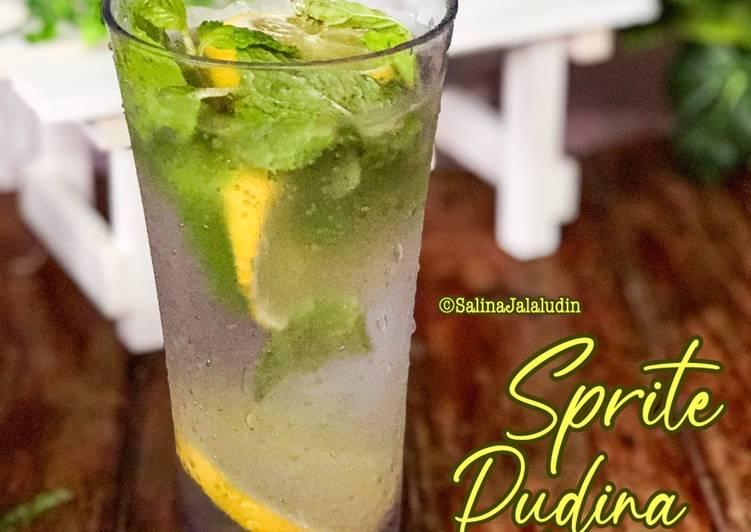 Sprite Pudina Lemon - resepipouler.com