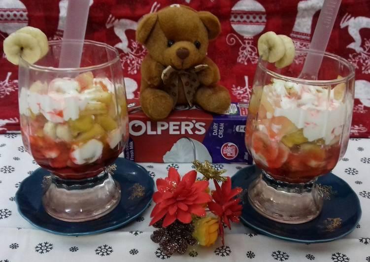 How to Prepare Speedy Creamy Fruity Chat