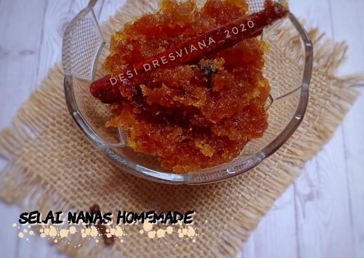 Selai Nanas Homemade (isian nastar)