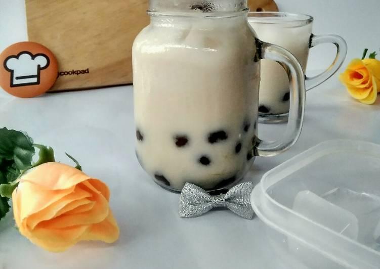 Resep Es Susu Boba Pearl yang Lezat Sekali