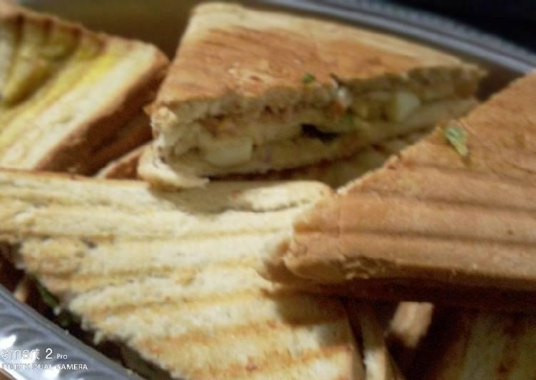 Easiest Way to Make Delicious Sardine sandwich