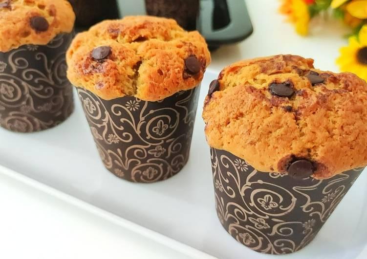 Resep Muffin pisang Bikin Ngiler