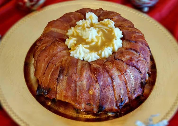 Pastel De Carne Con Bacon Y Huevo Receta De La Cocina Fácil De Lara Cookpad