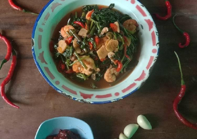 Tumis Kangkung Taoco Seafood Ala Resto