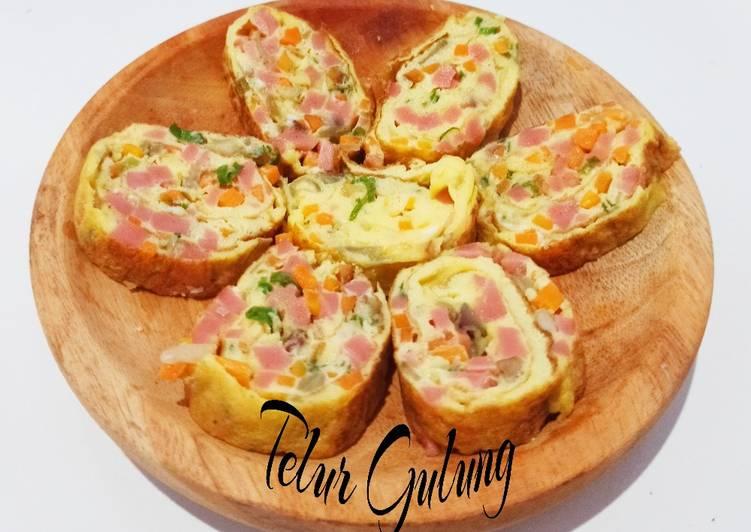 Telur Gulung (Tamagoyaki) - cookandrecipe.com
