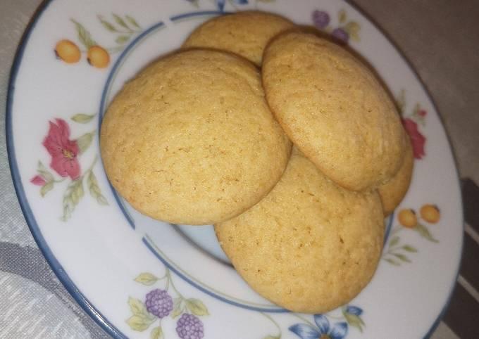 Biscuits au miel et orange