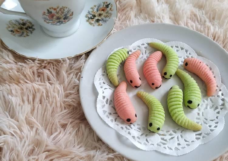 Caterpillar Cookies/ kukis ulat
