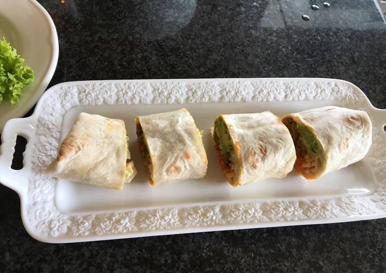 Resep Burrito Beef Recipe From Greece Ala Titis Oleh Titis Sukesi Cookpad