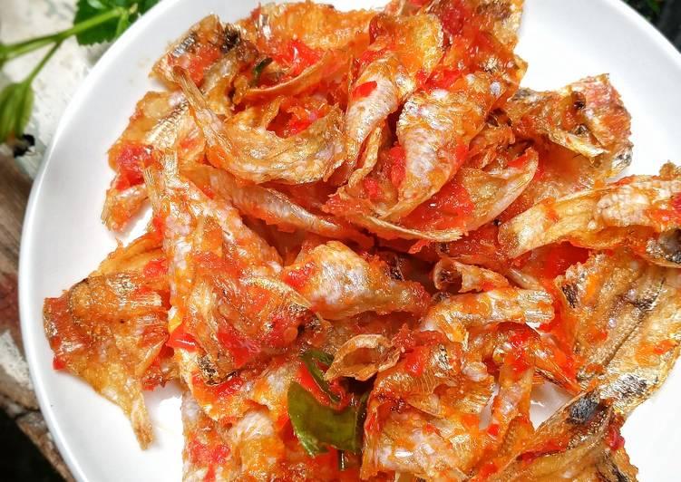 Resep Balado ikan asin kapas yang Gurih!
