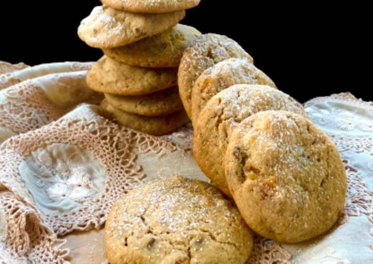 Cookies con Albicocca e Cioccolato al Caramello Salato