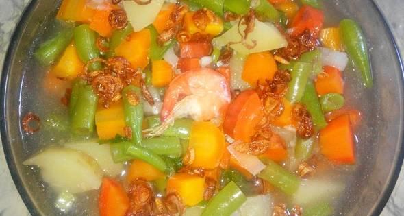 Resep Sup Udang Menyehatkan 3 Piring Sehari