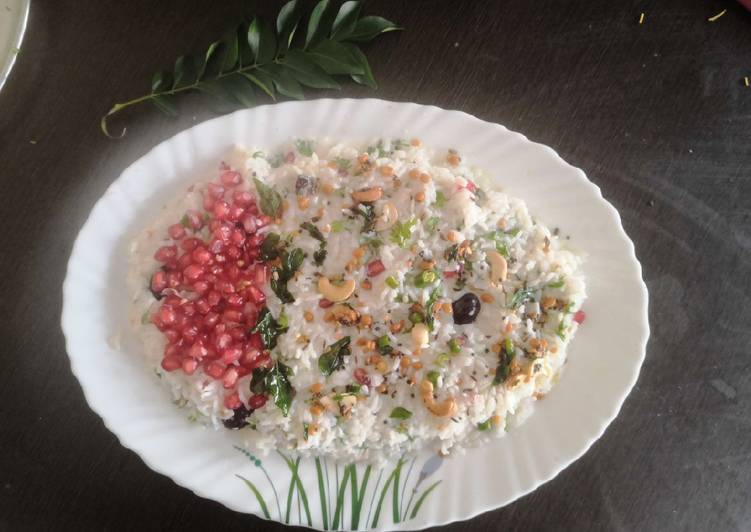 Steps to Make Ultimate Curd Rice