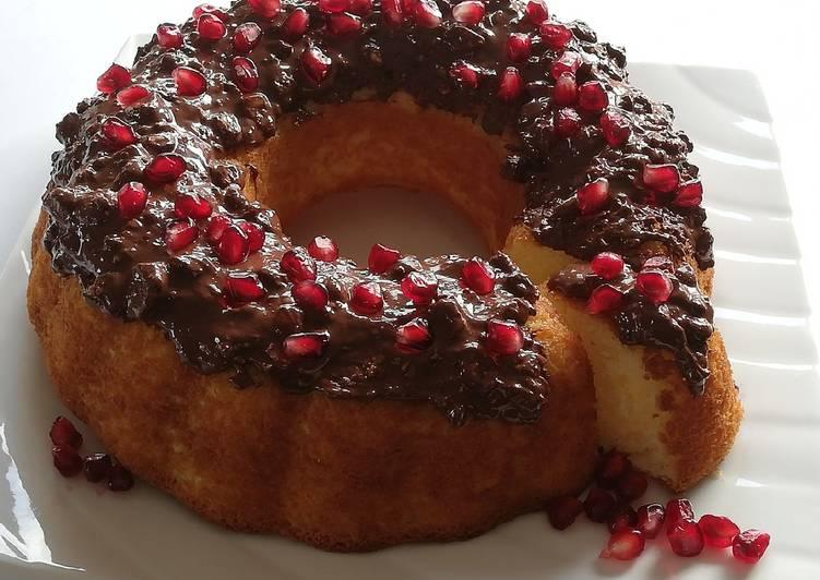 Le moyen le plus simple de Préparer Délicieux Ma recette de gâteau nappé de chocolat 🍫......