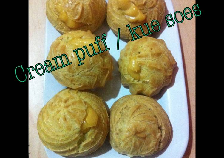 Kue soes/cream puff