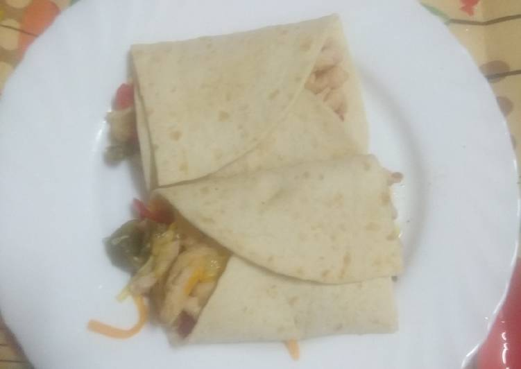 Burritos al microondas a mí manera