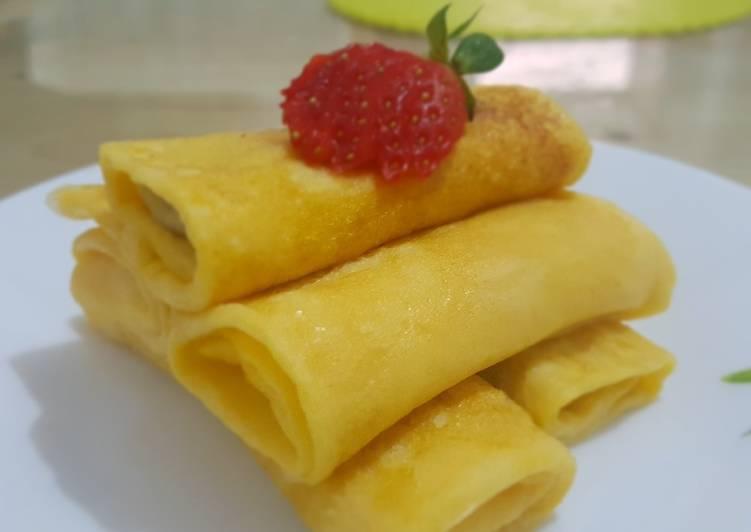 Soft pancake - mplek mplek betawi