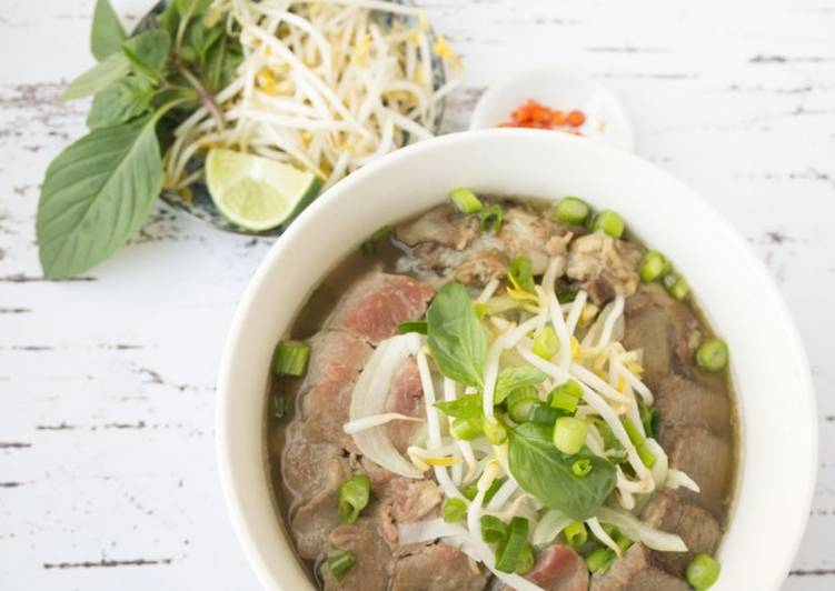 Simple Way to Make Favorite Pho bo