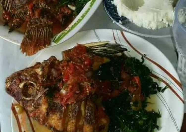 Easiest Way to Make Favorite Wet fry fish#weekly jikoni challange