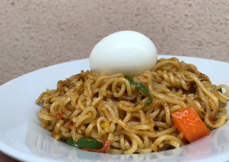 Image result for two indomie and one egg nigeria