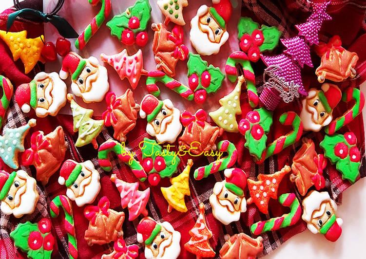 CHRISTMAS COOKIES | Kue Kering Natal dengan Royal Icing