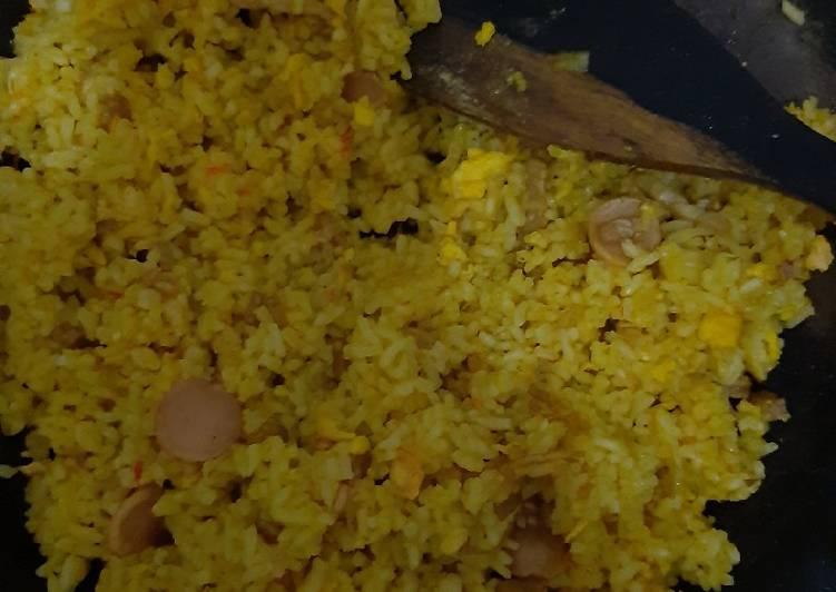 Nasi Goreng Kuning Pedas Sederhana