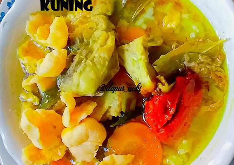 Soto Ayam Kuah Kuning (ala @dapur_uchi)
