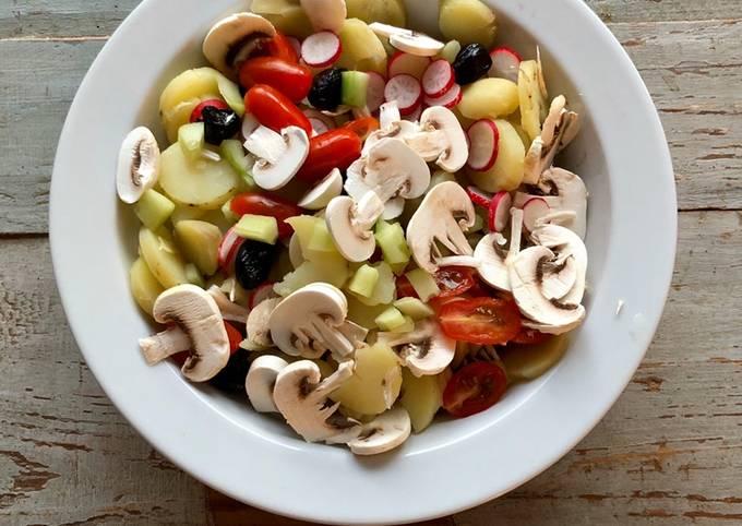 Salades de pommes de terre Printanière