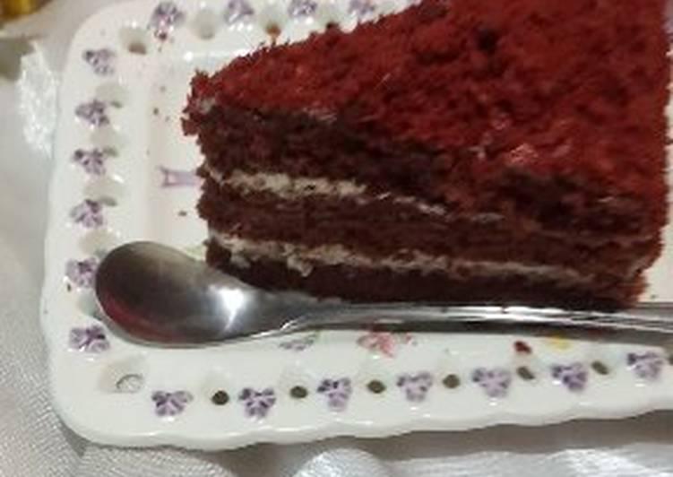 Red velvet cake (panggang)