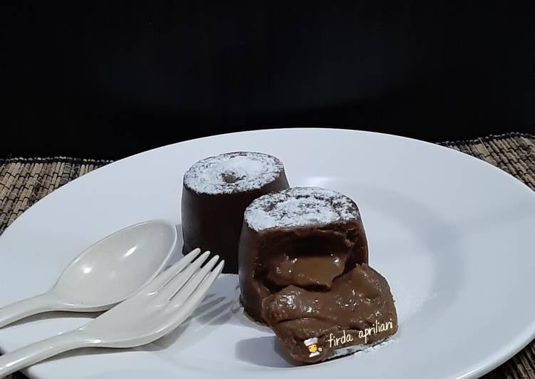 Milo Lava Cake