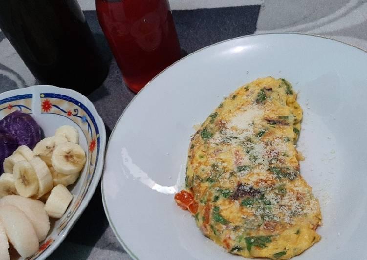 Omelete sayur