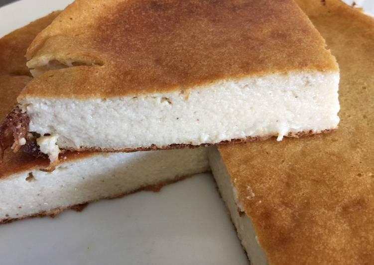 Cheesecake sans pâte