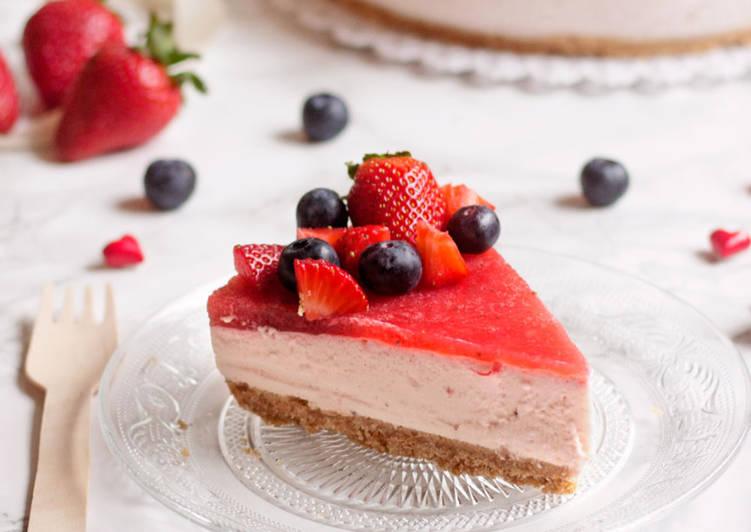 Torta Fredda allo Yogurt, Senza Cottura