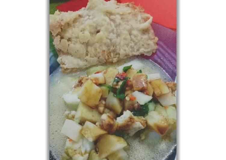 Tepo sayur khas ngawi