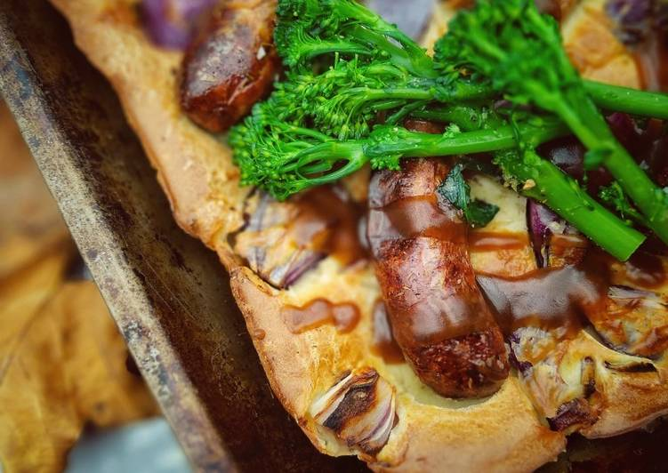 Recipe of Speedy Healthier Toad In The Hole