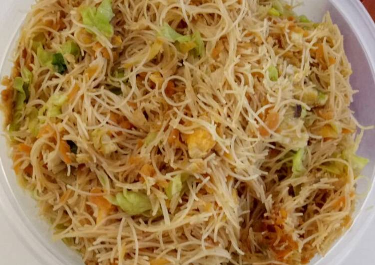 Fried Rice Noodle (Bihun Goreng) *Vegetarian/Vegan