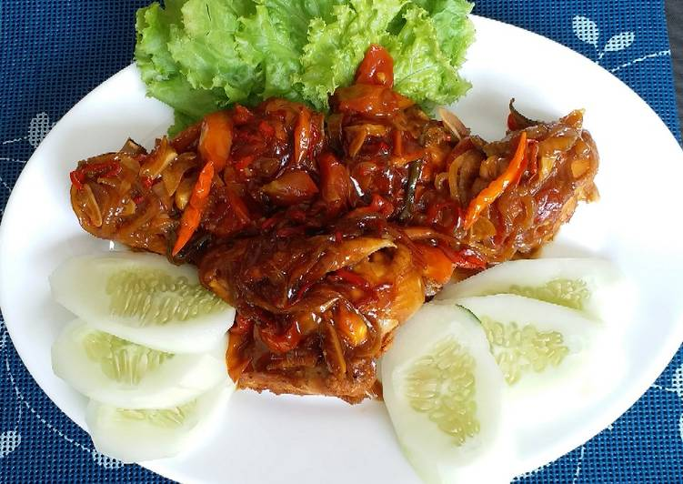 """Ayam Happy Pan Bumbu Kecap"""