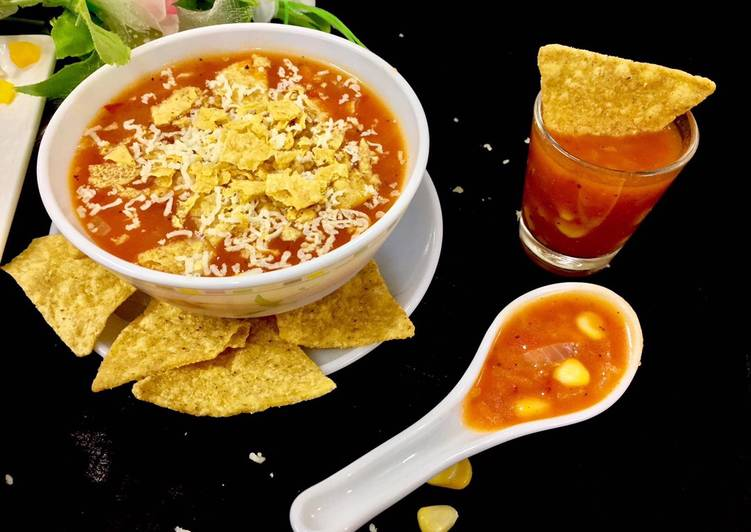 Steps to Prepare Any-night-of-the-week Mexican nachos soup