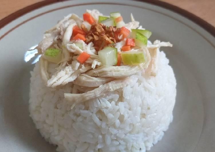 Nasi Tim Ayam / kaifan