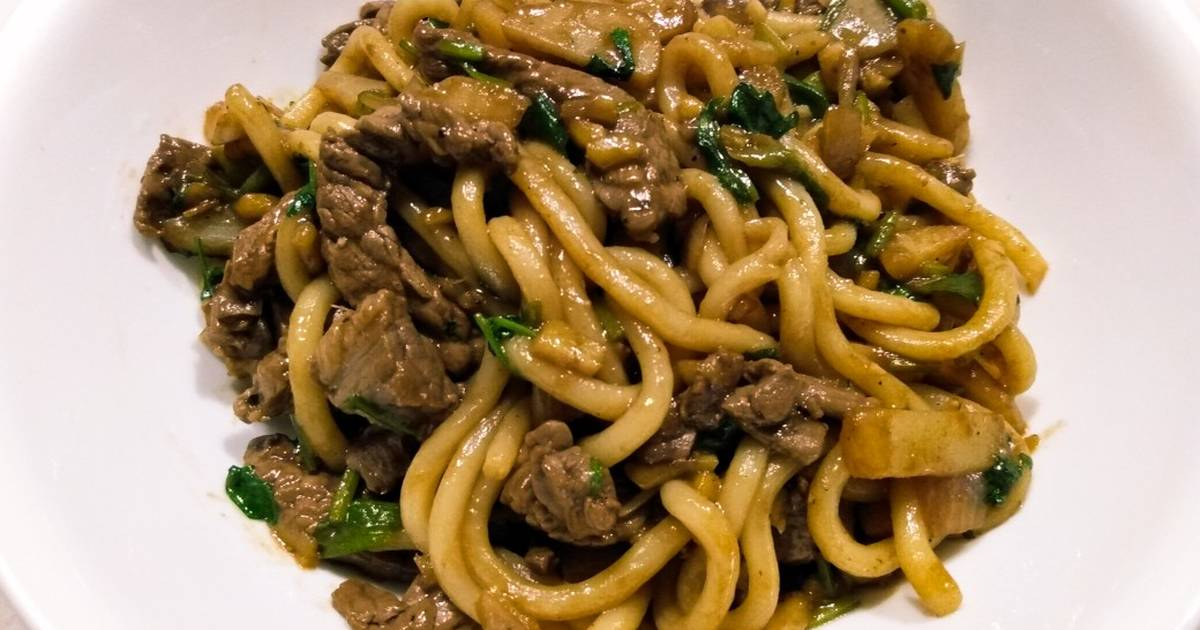 Beef And Udon Stir Fry Recipe By Robert Gonzal Cookpad