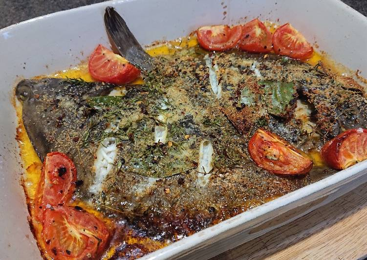 Recipe of Quick Baked Plaice