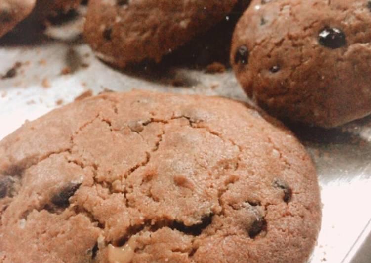 Choco lava cookies