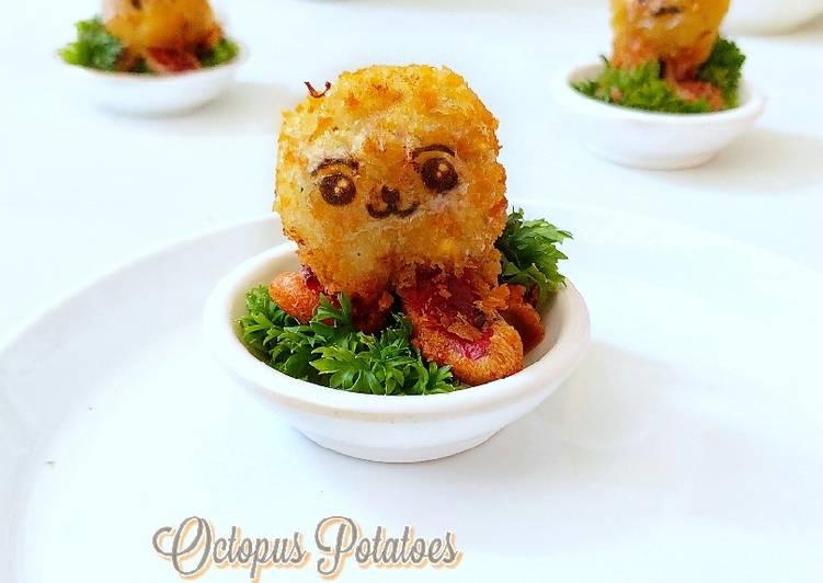 Octopus potatoes