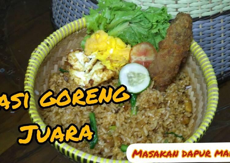 Resep Resep Nasi Goreng Juara Spesial Nasi Goreng Gila Oleh Marisa Cookpad