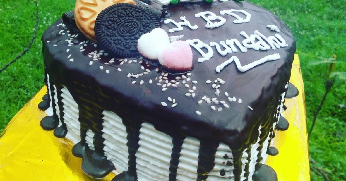 37 Resep Kue Coklat Love Enak Dan Sederhana Cookpad