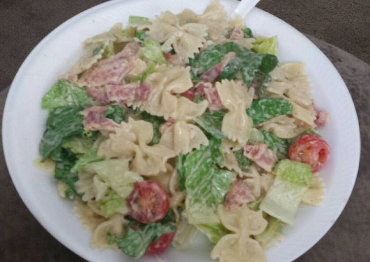 Foods That Can Make Your Mood Better BLT Pasta Salad