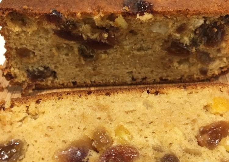 Steps to Make Perfect Fruit Cake