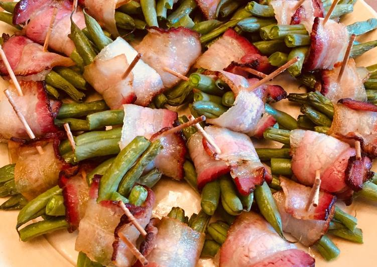 Consume These 14 Superfoods to Go Green for Optimal Health Bacon rolled green beans