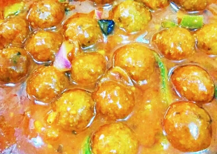 Manchurian chicken ball