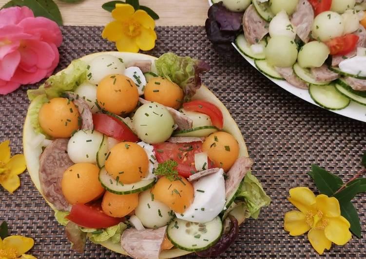 Les Meilleures Recettes de Salade de melon