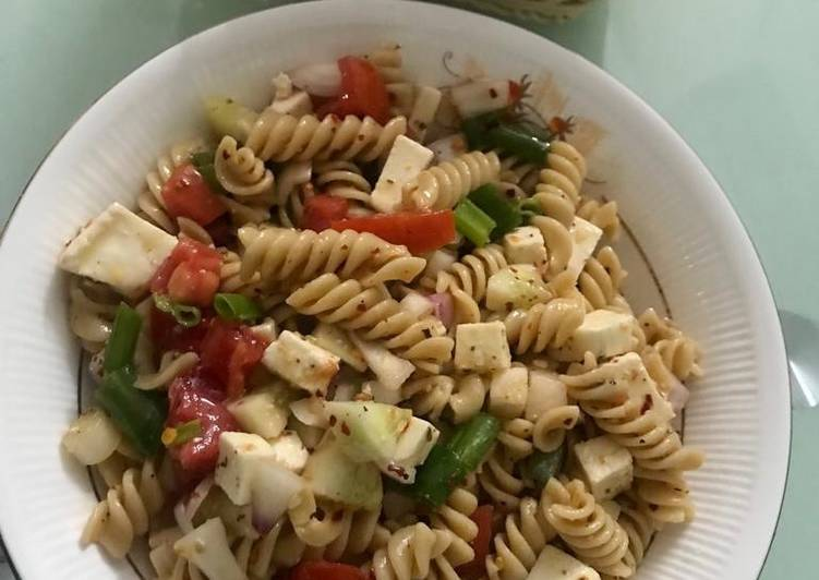 Simple Way to Prepare Homemade Italian Whole Wheat Pasta Salad
